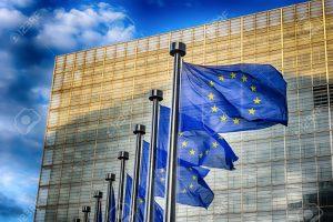 30121226 banderas de la ue en frente del edificio de la comisión europea en bruselas 300x200 - La ONU exige a los Gobiernos medidas urgentes y efectivas  para combatir la crisis climática