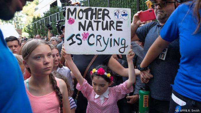 50234377 303 - Greta Thunberg protesta frente a la ONU en Nueva York