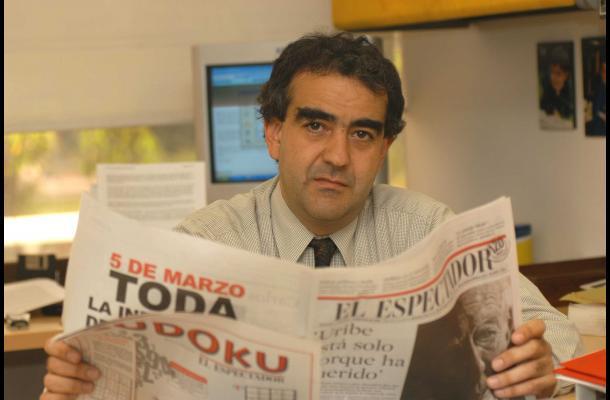 Fidel Cano director de El Espectador - Fidel Cano: La presión del narcotráfico a la prensa colombiana sigue viva