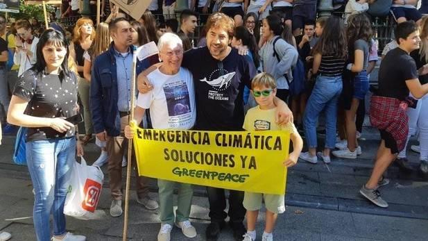 ep 20190927 165336 pc1740 10383 1 - Javier Bardem se suma a la manifestación juvenil contra el cambio climático