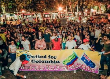 5dd6a9f0a076a 360x260 - Los colombianos que se unieron al paro nacional en el exterior