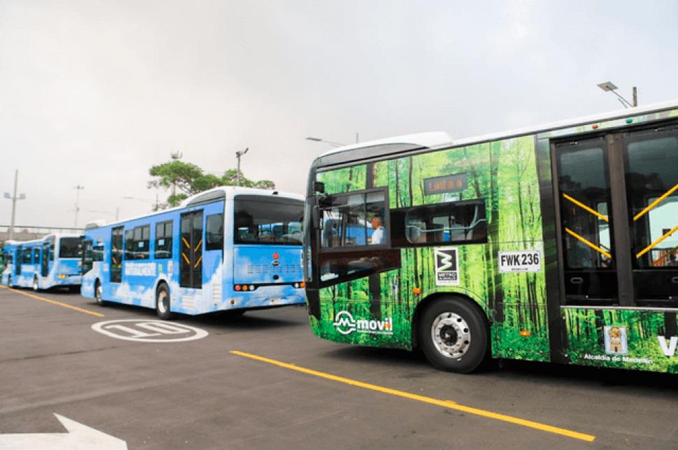 buses - Empiezan a rodar los buses eléctricos en Medellín por el corredor de la 80