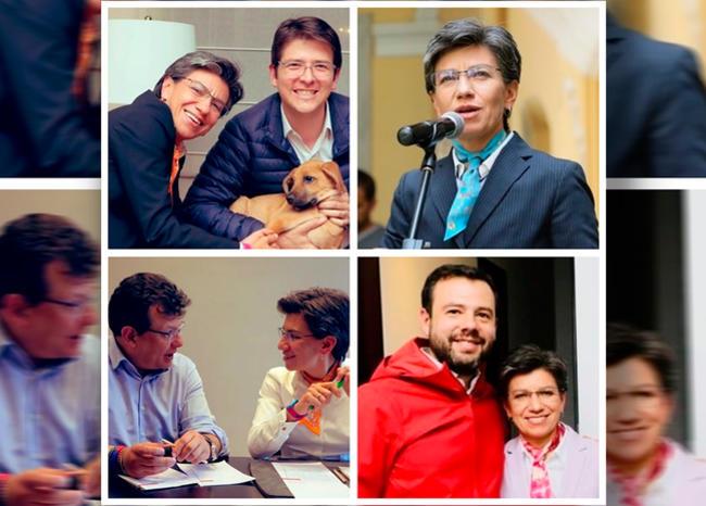 claudia lopez contrincantes  0 - Alcaldesa Claudia López sorprende con conciliadora visita a sus excontrincantes