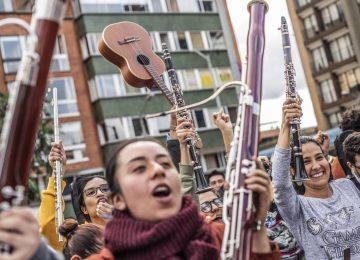 1575339547 024917 1575414637 noticia normal recorte1 360x260 - Las protestas en Colombia tienen banda sonora
