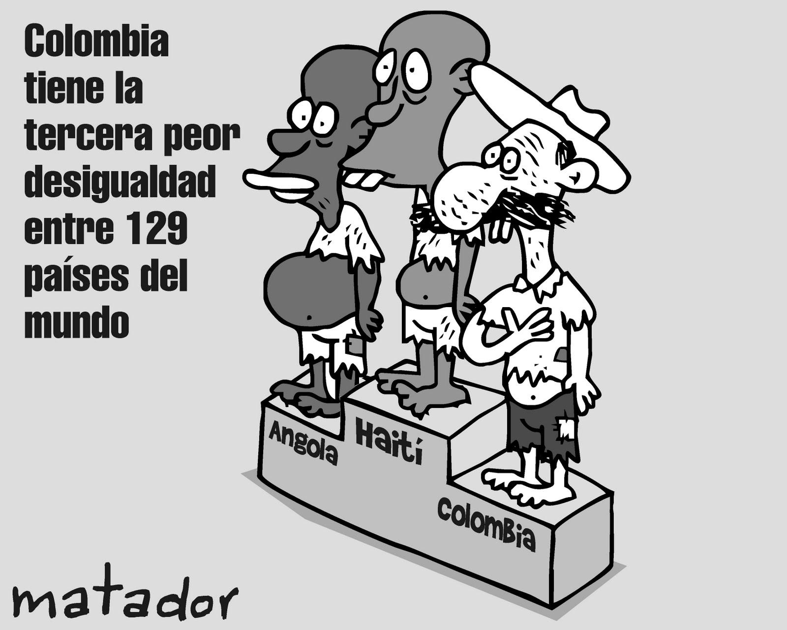 Noviembre 03 El Tiempo B - Oh, sorpresa: Colombia es el país más desigual de América Latina