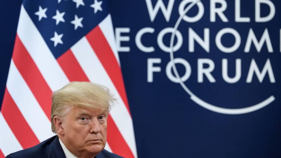 """1579609594 861770 1579626135 noticia fotograma - Trump ignora el 'impeachment' en Davos y arremete contra el """"catastrofismo climático"""""""