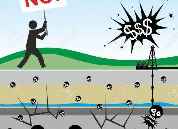 23758844 ilustración de los riesgos ambientales causados por el fracking 360x260 - ¿Qué es el Fracking? ¿Cuáles son sus graves riesgos?