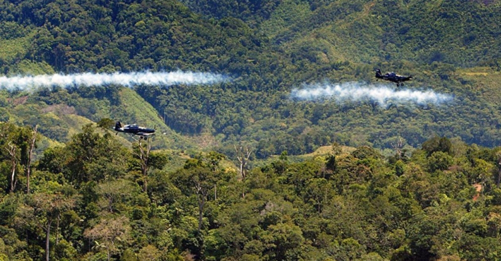glifosato   referencia - EE.UU. muestra beneplácito por posible reanudación de fumigaciones con glifosato en Colombia.