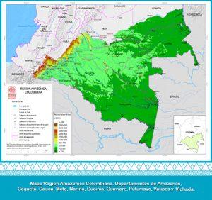 región amazónica m2 300x282 - Con acción popular buscan frenar la deforestación en la Amazonia colombiana