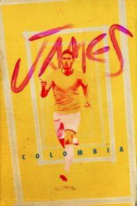 """74ddd2ea46277ee49a66648ae841aec4 retro football football posters 200x300 - Un """"golazo"""" de James Rodriguez con  donaciones en Bogotá e Ibagué por el coronavirus"""