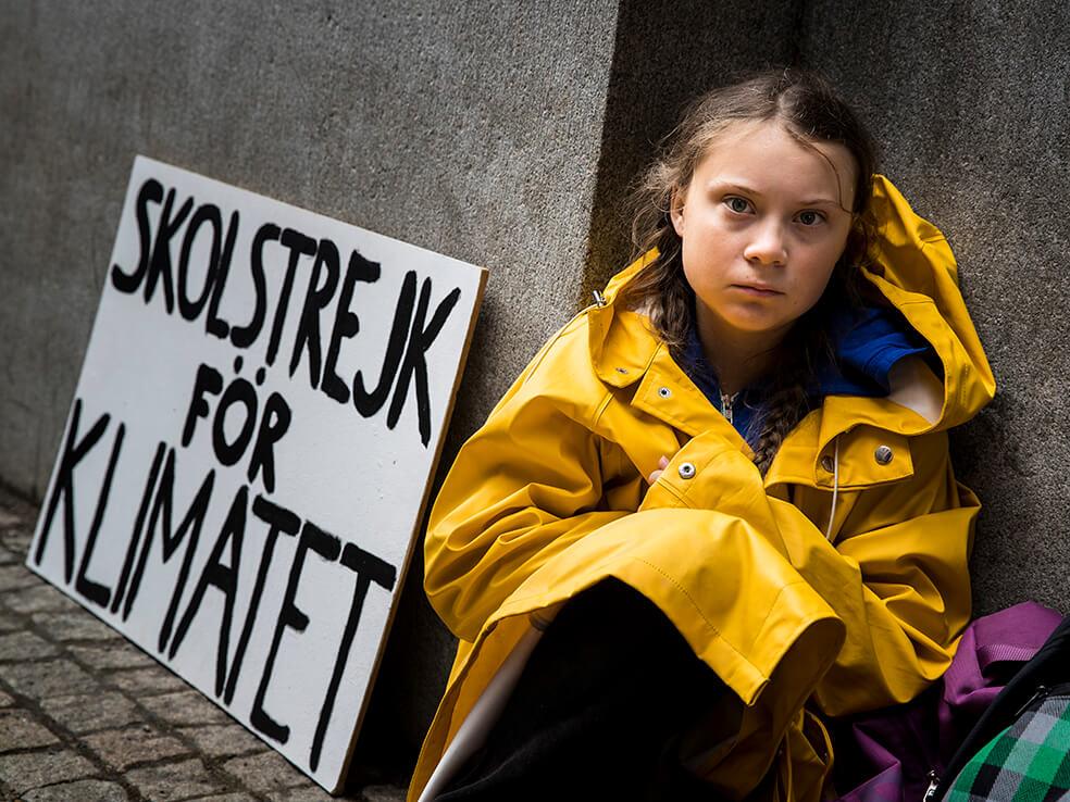 "greta thunberg 3 - ""huelga digital"" contra el coronavirus propone Greta para evitar contagios."