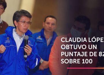 Puntaje 696x367 360x260 - Claudia López, la mejor calificada en el manejo de la emergencia del coronavirus
