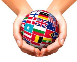 banderas del mundo en globo y manos 41316180 300x241 - Líderes de todo el mundo piden una respuesta común contra el virus | Carta al G20