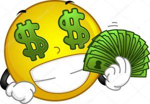 depositphotos 10118065 stock photo money loving smiley 300x209 - Líderes de todo el mundo piden una respuesta común contra el virus | Carta al G20