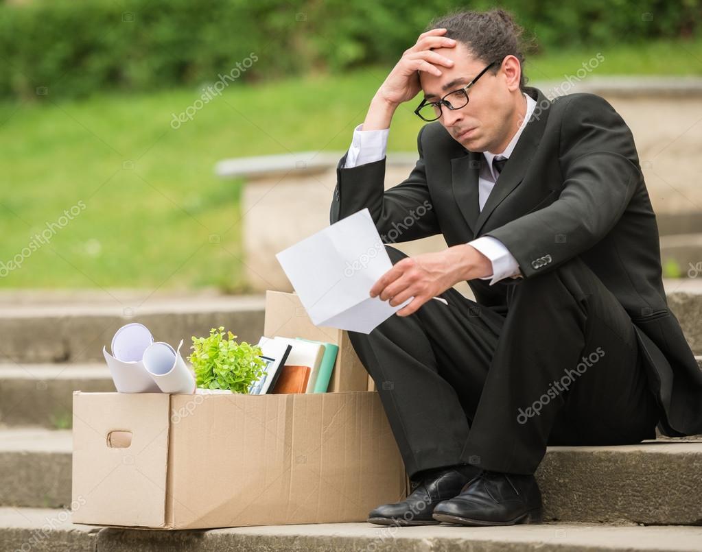 depositphotos 75286059 stock photo unemployed man - El  Pandemonio del desempleo llegó a Colombia con la Corona virus...