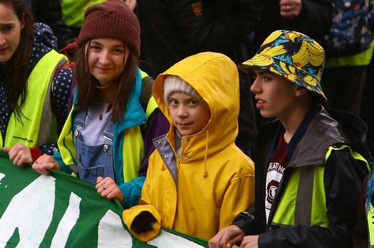 """image large - """"El activismo funciona"""", dice Greta Thunberg a los jóvenes del mundo."""