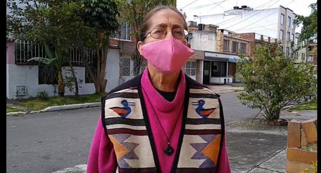 0f7d5b98 9e71 4db6 8891 cfb607e2824d 1 1024x554 - Esperanza, en honor a su nombre, es Hada Madrina que coordina ayuda humanitaria para desplazados en Bogotá, y familias de aborígenes en el Chocó.