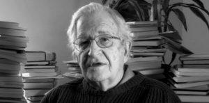 """Noam Chomsky 300x148 - """"No se puede pasar por alto la alarma de una extinción inminente"""". Noam Chomsky"""