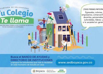 TuColegioTeLlama 800x445 1 360x260 - El Corazón de Boyacá puede multiplicar el Milagro de Santiago, y mejorará la Vida de niños y niñas.