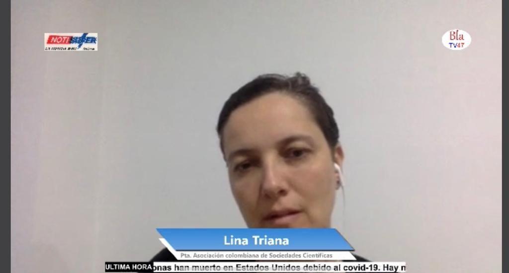 """eae626bb e2be 4f5d bf9e 6db607627bd6 1024x550 - """"Nos dicen héroes, pero el gobierno nos abandona, la gente nos maltrata, y estamos en grave riesgo. ¡Quién nos puede ayudar?¡:Lina Triana, Médica Cirujana"""