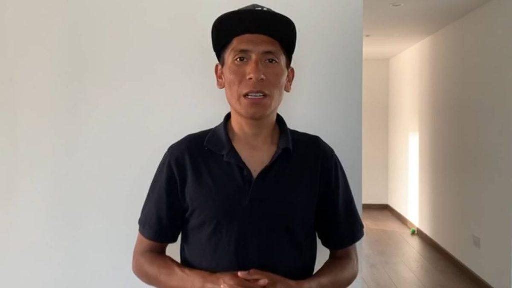 1593820324 155151 1593820681 noticia normal 1024x576 - Nairo Quintana, sin fracturas, pero con dos semanas de reposo