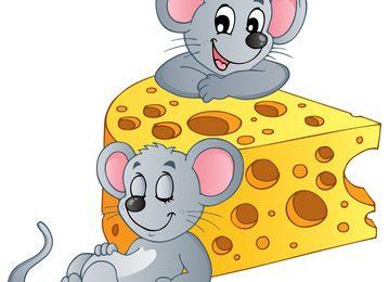 Fábula El ratón y el queso. Imagen fabulas.me  359x260 - Los ratones, ¿cuidando el queso?