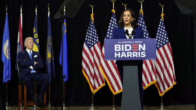 "3Z5WHTSA4BBUNBJYWE6FS3VJCY - Joe Biden y Kamala Harris lanzan la campaña para ""reconstruir"" Estados Unidos"