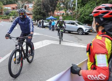 imagen 1 1 360x260 - Ciclistas se reactivan con el programa Pedaleando ConCiencia en la región central