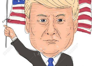 79845665 june 2 2017 watercolor style illustration of donald trump president of the united states of america  360x260 - La salud de Trump, entre mentiras y una gran puesta en escena