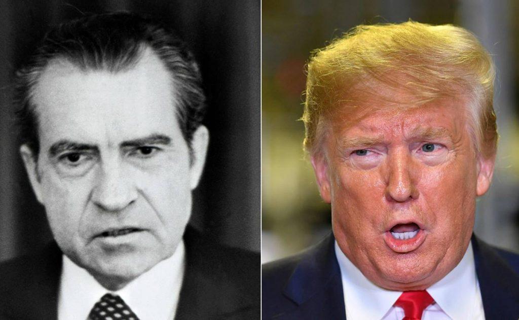 combo files us politics impeachment nixon trump 107306222 1024x631 - Juicios políticos de Trump y Nixon
