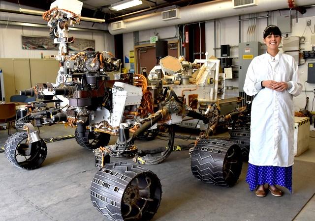 Diana Trujillo - Diana Trujillo, la colombiana que lidera en la NASA la búsqueda robótica de vestigios de vida en Marte.