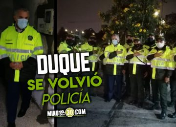 Ivan Duque se volvio Policia para darles respaldo tras las protestas 360x260 - PLAN RESCATE