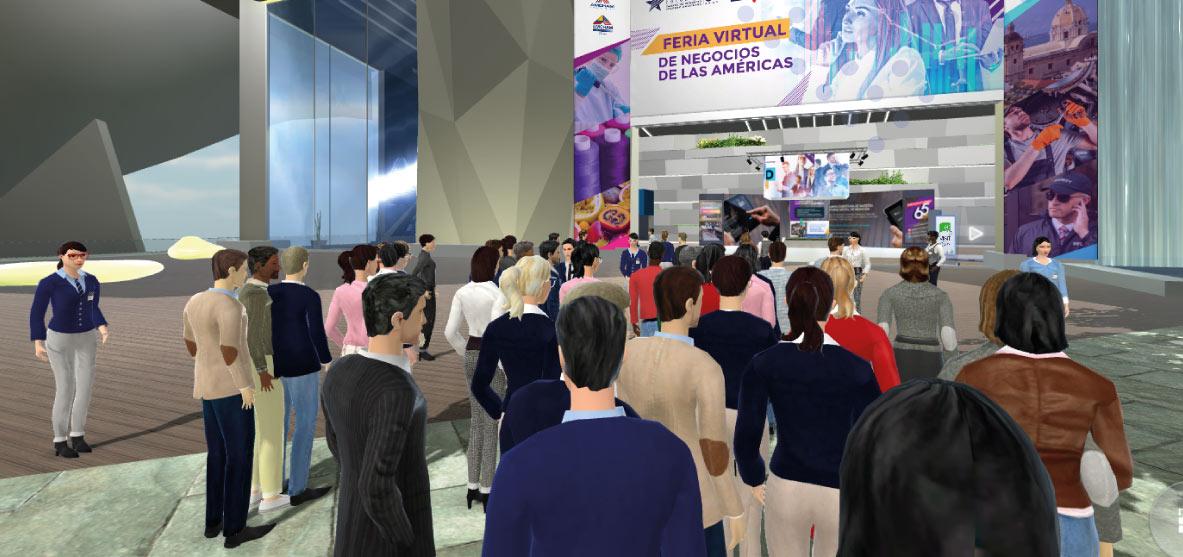feria2 - Cundinamarca Presente en la Feria Internacional Amcham Colombia