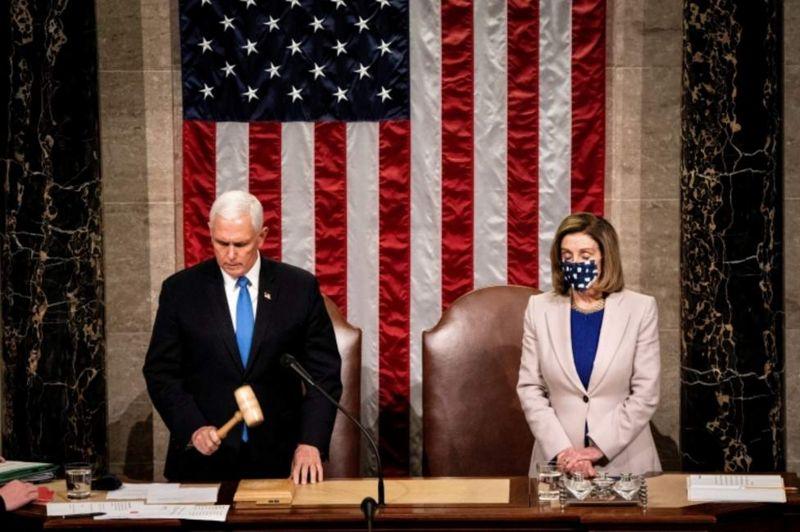 116380445 pelo 1 - El Congreso de Estados Unidos certifica la victoria de Joe Biden tras el asalto al Capitolio
