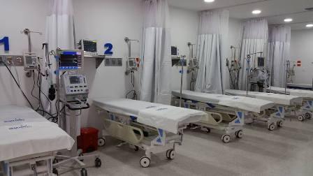 Sala observación hospital Girardot - Autocuidado, pico y cédula, ley seca y toque de queda en Girardot, anuncia el Gobernador de Cundinamarca.