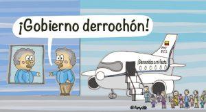Duque derrochon caricatura Anyelik 300x163 - VACUNAS QUE MATAN