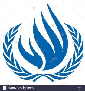 el logotipo del consejo de derechos humanos de las naciones unidas comite de derechos humanos de la onu con sede en ginebra d035jp 281x300 - Gobierno de los Estados Unidos trabajará con Colombia para que la lucha antidrogas respete la ley y los derechos humanos