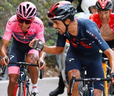 4WY2DAKRJVCUBJONAV6DQJR3LI 380x320 - 'Vamos Egan': el aliento de Daniel Martínez al líder del Giro de Italia que le da la vuelta al mundo