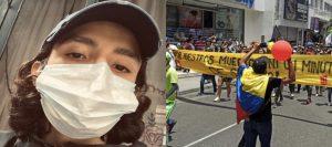 JSSNLCEZDVBWPAJPAI5NFAT4ZM 300x133 - Así avanzó el quinto día de manifestaciones en Colombia
