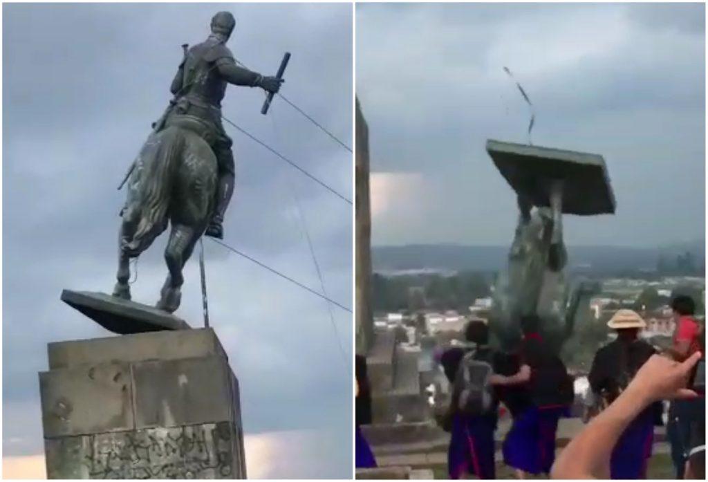 estatua en popayan 1024x697 - No solo las estatuas