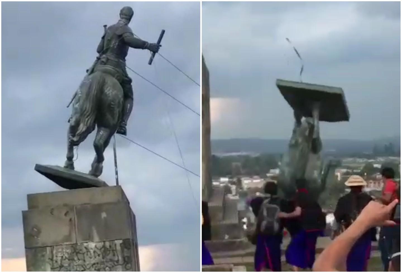 estatua en popayan - No solo las estatuas